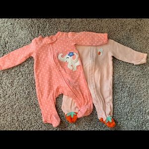 3 Newborn Pajamas